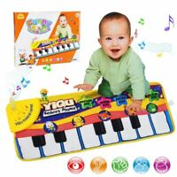 Baby Musical Carpet Piano Keyboard Kids Play Music Mat Educational Touch Toy