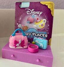🐞 SHOPKINS Disney Happy Places CINDERELLA Bag Purse Compact Lot of 3 NOOP