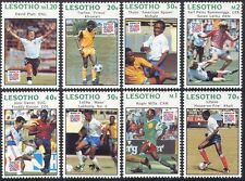 Lesotho 1994 World Cup Football/WC/Soccer/Sports/Games/Players 8v set (n17426)