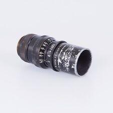 "= Wollensak 3"" f4 Cine Telephoto Lens C Mount with Hood"