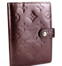 Auth Louis Vuitton Vernis Rouge Fauviste Organizer Dairy Planner Dairy Cover