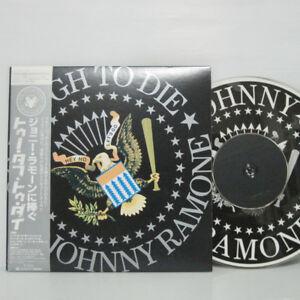 ''2DVD'' RAMONES - TOO TOUGH TO DIE 2006 JAPAN KING RECORD NOT LP w/ BIG POSTER