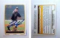 Luis Heredia Signed 2012 Bowman Prospects #BP70 Card Pittsburgh Pirates Auto