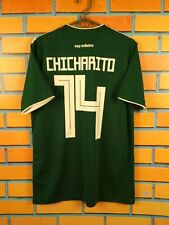 Chicharito Mexico jersey 2018 2019 Home S Shirt Football Soccer Adidas CW1526