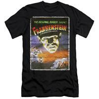 UNIVERSAL MONSTERS FRANKENSTEIN ON Licensed Adult Men's Graphic Tee Shirt SM-6XL