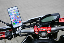 Motorbike Handle Bar Mount for iPhone 6/6S (White) - Intuitive Cube Bundle C