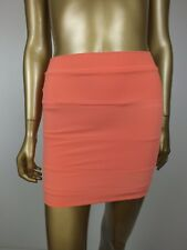 WHITE SUEDE BANDAGE BODYCON MINI TUBE SKIRT 6 XS