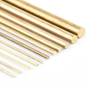 Brass Round Bar/Rod - Diameters 1mm to 50mm - various lengths - Modelmaking