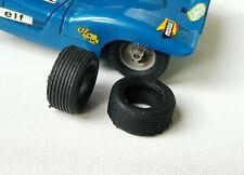8 Pneus repro JOUEF Matra 650, BMW, Karting, Dragcar, Porsche 917 Lotus
