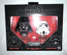Star Wars Titanium Black Series Darth Vader & Stormtrooper Helmets 03