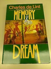 Memory and Dream by Charles de Lint (1994, Hardcover)