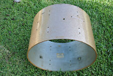 """1960's GRETSCH 22"""" CHAMPAGNE SPARKLE BASS DRUM SHELL for YOUR DRUM SET! #E174"""