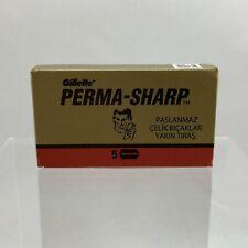Gillette Perma-Sharp Razor Blades (5 count)