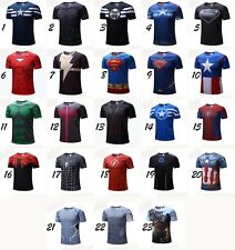 T-shirt Superman/Batman/spider man/captain America /Hulk/Iron Man / t shirt men