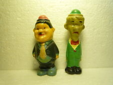 GREAT  VINTAGE LITTLE FIGURES LAUREL AND HARDY  STAN AND OLLIE  RRRRRRRRRRRRRRRR