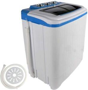 Portable Compact Mini Washer and Dryer Twin Tub Versatile Washing Machine