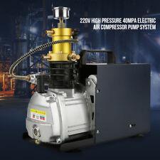 30Mpa Electric PCP Air Compressor for Airgun Paintball Rifles 220V Pump Machine