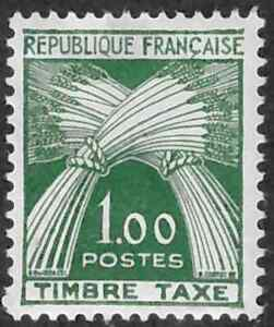 France #J97 Mint Hinged 35% of SCV $40  **FREE Domestic SHIPPING**