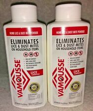 2 Vamousse KILL SUPER LICE Home Dust Mite Powder Furniture Clothes Car Treatment