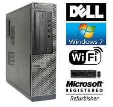 Dell Optiplex 390 SFF Windows 7 Professional Core I3 HDMI 3.1GHz 8GB DVD WiFi