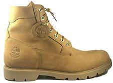Timberland Waterproof Boots Mens Size 11.5 Wheat Tan Nubuck
