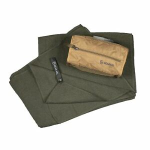 """GEAR AID Quick Dry and Compact Micro-Terry Towel, OD Green, Large, 30"""" x 50"""""""