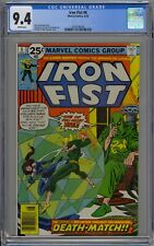 Iron Fist #6 CGC 9.4 NM Wp Vs. Colleen Wing Marvel Comics 1976 John Byrne Art