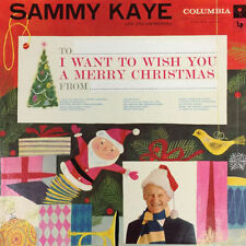 SAMMY KAYE & HIS ORCHESTRA - I WANT TO WISH YOU A MERRY CHRISTMAS - CD - Sealed
