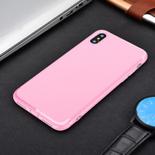 Ultra Thin Slim Silicone TPU Soft Case Cover For iPhone X / XS