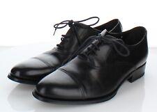 D41 NEW $350 Men's Sz 8M To Boot New York Vanderbilt Leather Oxfords In Black