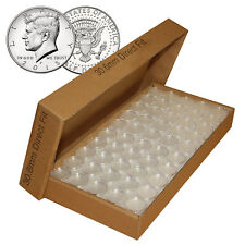 1000 Direct Fit Airtight 30.6mm Coin Holders Capsules For JFK HALF DOLLARS