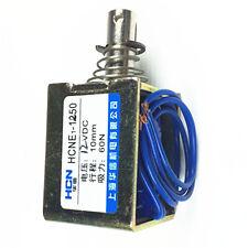12V Pull Hold/Release 10mm Stroke 0.9Kg Force Electromagnet Solenoid Actuator