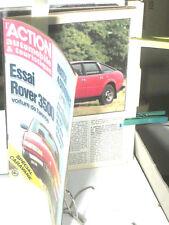 ESSAI ROVER 3500 / ACTION AUTO /MARS 1977
