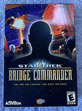 PC Star Trek Bridge Commander Space Combat Simulator New in Box Original Edition