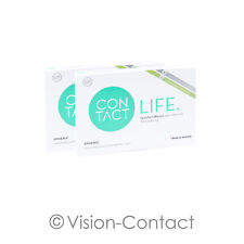 Contact Life 2 x 6 sphärische Kontaktlinsen Monatslinsen von Wöhlk
