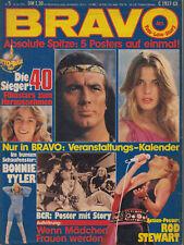 Bravo 1978 / 5 Pierre Brice Winnetou, Nastassja Kinski, Bonnie Tylor, Status Quo