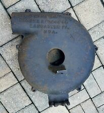 Vintage Champion blacksmith forge blower cover replacement parts antique