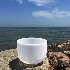 "8"" G Throat Quartz Crystal Singing Bowl Meditation Heal Stone"