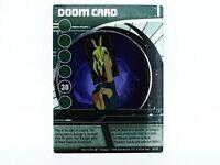 Bakugan DOOM CARD Ability Foil Card, Rare Collectable Collectors card