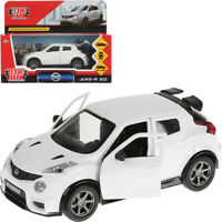 Nissan Juke-R 2.0 White Diecast Model Car Scale 1:36