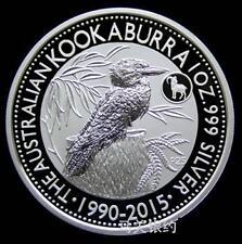 Australia Kookaburra 25 year Anniversary Silver .999 1oz Coin (Limited Edition)