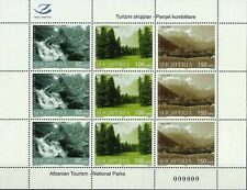 Albania Stamps 2015. Tourism-National Parks. Full sheet serie MNH