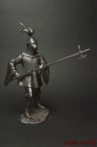 1/32 Tin soldier English knight, XVI century figure metal soldiers 54mm