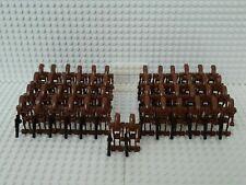 50x Kampfdroide (B1 Battle Droid) Braun mit Blastern & Grundplatten - kompatibel