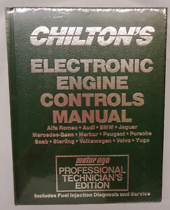 Chilton's Engine Controls European Service Repair Manual 1992