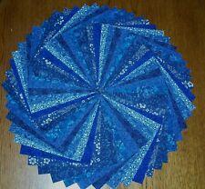 54 Blue Calico Fabric 5