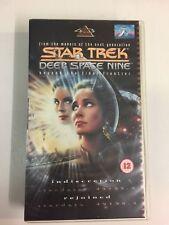 Star Trek Deep Space Nine 4.3 Indiscretion / Rejoined VHS Video