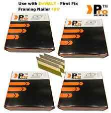 8000 Nails for DEWALT Cordless DCN692 Framing Nailer (2000 of each size)/