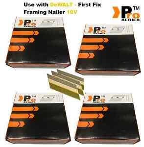 8320 Nails for DEWALT Cordless DCN692 Framing Nailer (2080 of each size)