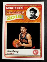 2018-19 Panini NBA Hoops Class of 2018 Trae Young Rookie RC #5, Atlanta Hawks